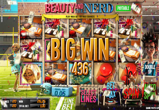 Beauty And Nerd Slots